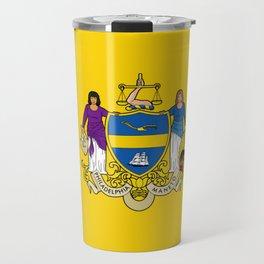flag of philadelphia Travel Mug