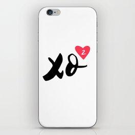 Hugs And Kisses x2 iPhone Skin