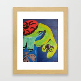 Blender Framed Art Print