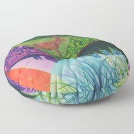 Happy Accidents Floor Pillow
