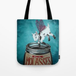 Oh My Goatness Tote Bag