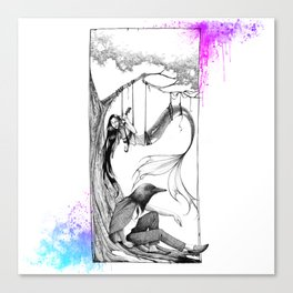 Robspier and Eos Canvas Print