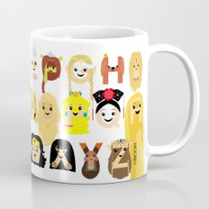 Princess Alphabet Mug