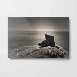 Boot - Cliff - Booty Metal Print