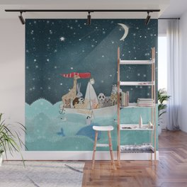 little nautical explorers Wall Mural