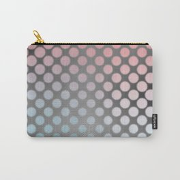 Soft pastels on silver Carry-All Pouch