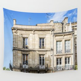 Old building in  Bordeaux Wall Tapestry