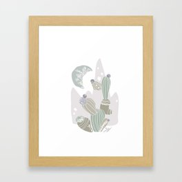 cacti rabika Framed Art Print