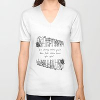 baltimore V-neck T-shirts featuring Baltimore by Lasafro