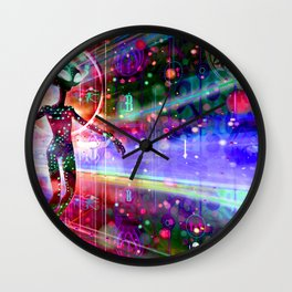 Space Time Jumper Wall Clock
