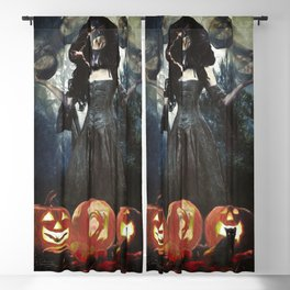 Juggling Halloween Blackout Curtain