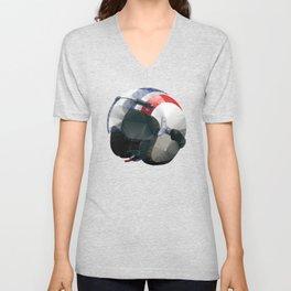 Tag Heuer Steve McQueen Cafe Racer Helmet Polygon Art Unisex V-Neck