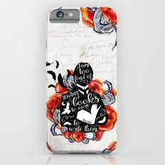 Picture of Dorian Grey - Too Fond of Reading Slim Case iPhone 6s