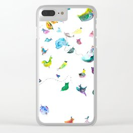 Chickens! Clear iPhone Case