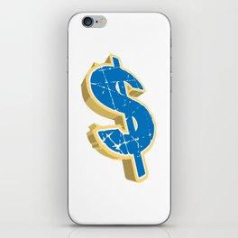 Dollar Sign iPhone Skin