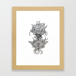Old Man Chaos Framed Art Print