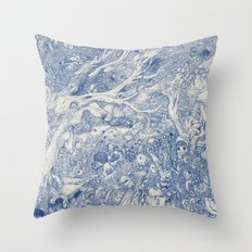Mind Dream is to Have Her Always Throw Pillow