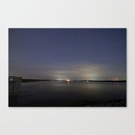 Saylorville by night Canvas Print