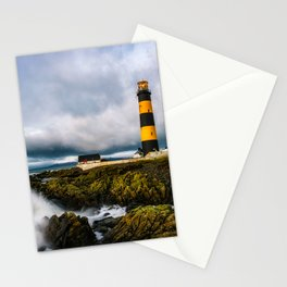 St. John's Point Lighthouse - Print  County Down, Northern Ireland.(RR 265) Stationery Cards
