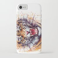 kpop iPhone & iPod Cases featuring Tiger by Olechka