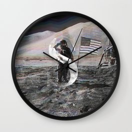 S is for Space. Wall Clock