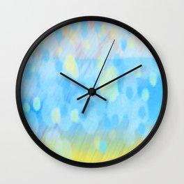 Barafundle Rain Wall Clock