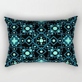 Geometric Constellations Rectangular Pillow
