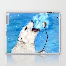 Polar Bear with Toasted Marshmallow Laptop & iPad Skin