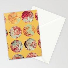 Sunflower Inkblot Stationery Cards