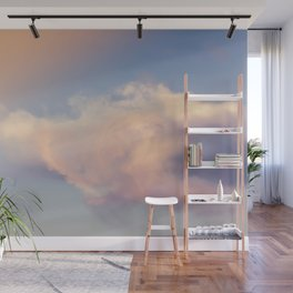 Cotton Candy Clouds Lensbaby Wall Mural