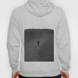 Moon Surface // Hiking up the Black Hills in a Desolate Landscape Hoody