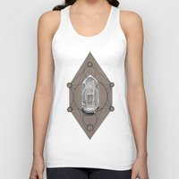 sacred geometry Tank Tops featuring Sacred Geometry  by Kit King & Oda