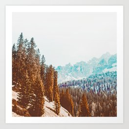 Wanderlust #travel #nature Art Print