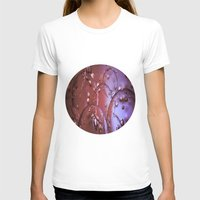 jewish T-shirts featuring Red Glass Bubbles by Brown Eyed Lady