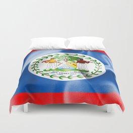 Belize Flag Duvet Cover