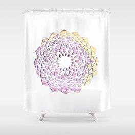Mandala flower Shower Curtain