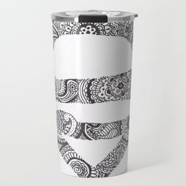 Super Symbol Doodle Travel Mug
