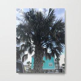 Palm trees in Myrtle Beach Metal Print