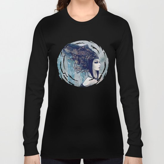 Zodiac Sign: Aquarius Long Sleeve T-shirt