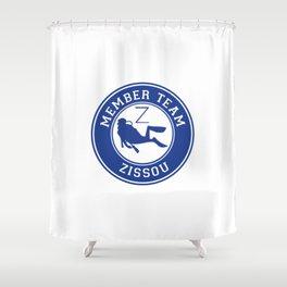 Member Team Zissou Shower Curtain