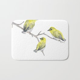 Finch Bird Bath Mat