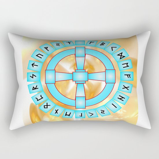 Odins Portal Rectangular Pillow