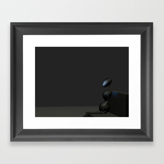 AntWoman  Framed Art Print