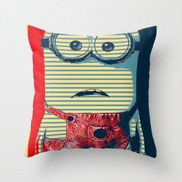 Minion banana Throw Pillow
