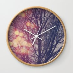 All the pretty lights (2) Wall Clock