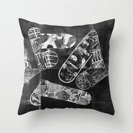 Constructive Use of Time Throw Pillow