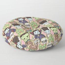 Kawaii Little Monsters Series 1 Pattern Print Floor Pillow