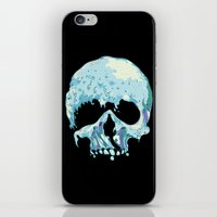 silent iPhone & iPod Skins featuring Silent Wave by Huebucket
