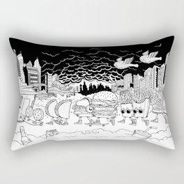 Noah's Spaceship Rectangular Pillow