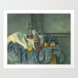 Paul Cézanne - The Peppermint Bottle Art Print